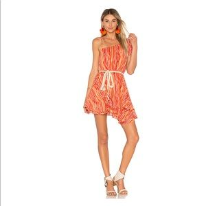 Free People Heart Shaped Face Mini Dress Sz M NWT